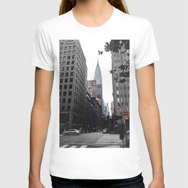 Weekend vibes in New York City - Empire State Building T-shirt