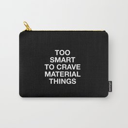 6 inch - plain font Carry-All Pouch