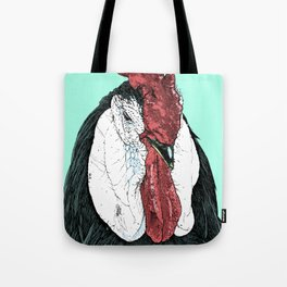 Rooster II Color Tote Bag