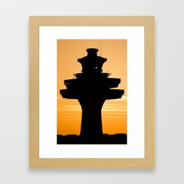 """""""The Soul of the Airport"""" Framed Art Print"""