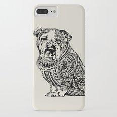 Polynesian English Bulldog Slim Case iPhone 7 Plus