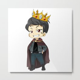King Riko Metal Print