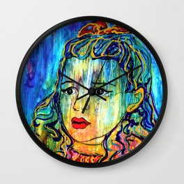 Beyond the Rain Wall Clock