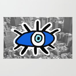Eyes on Manhattan Rug