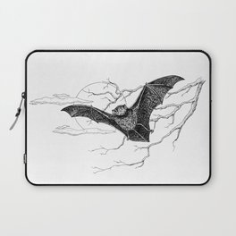 """Night Flight"" Bat Halloween Pen and Ink Study Laptop Sleeve"