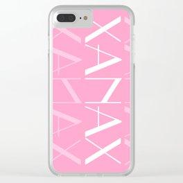 XANAX Clear iPhone Case