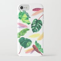 palm iPhone & iPod Cases featuring PALM by Ellie Cryer