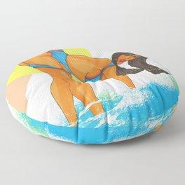 """""""Cleo Warmth"""" Floor Pillow"""