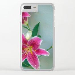 STAR GAZERS Clear iPhone Case