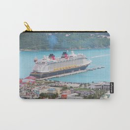 View of our ship Tortola Carry-All Pouch