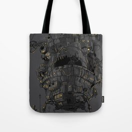 Clamped Tote Bag