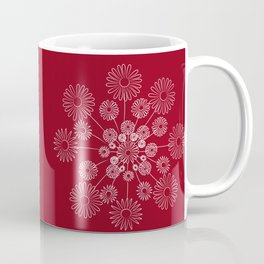 Floral snow Coffee Mug