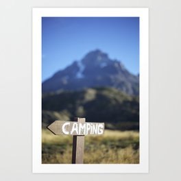 The Scenic Route Art Print