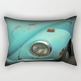 Vintage Volkswagen Bug Rectangular Pillow