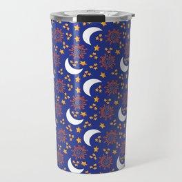 The Sun, Moon and Stars Travel Mug