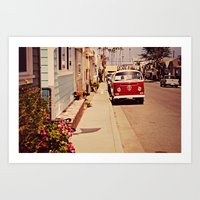 vw bus Art Prints featuring VW BUS by INEVITABLE 27