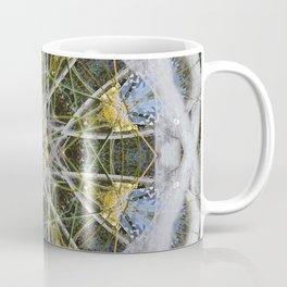 Fountain Mandala (#083c) Coffee Mug
