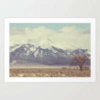 colorado Art Prints featuring Colorado by Amy Harlow