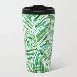 PALMY AND 85 Green Tropical Palm Travel Mug