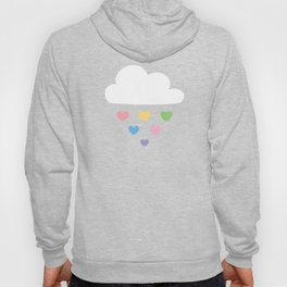 Raining hearts Hoody