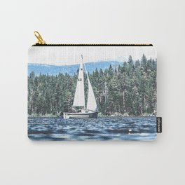 Calm Lake Sailboat Carry-All Pouch