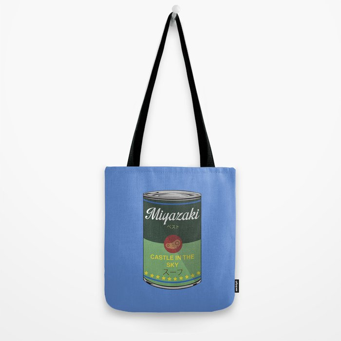 Castle in the sky - Miyazaki - Special Soup Series  Tote Bag
