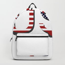 word United States of America Backpack