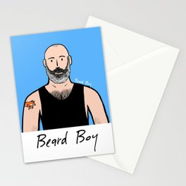 Beard Boy: Philippe Stationery Cards