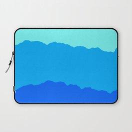 Minimal Mountain Range Outdoor Abstract Laptop Sleeve