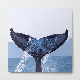 BlueWhale Metal Print