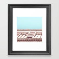 Melbourne City Architecture Framed Art Print
