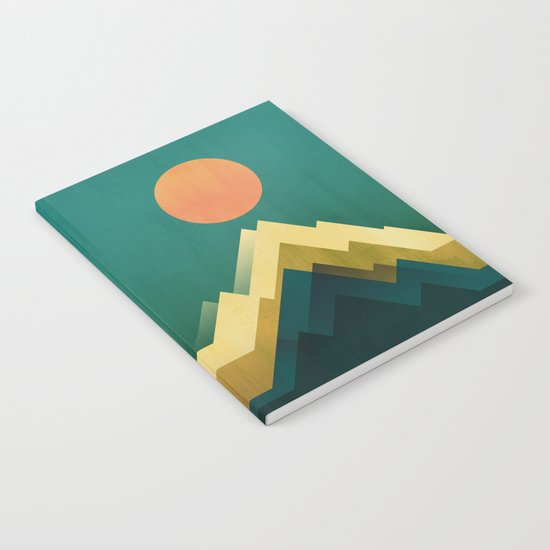 Gold Peak Notebook