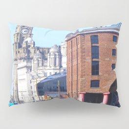 Albert Dock And the 3 Graces Pillow Sham