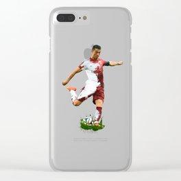 Ronaldo Clear iPhone Case