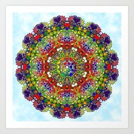 Relax Cyrcle Art Print
