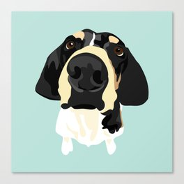 Lily's Nose Canvas Print
