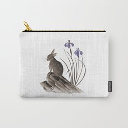 Springtime Rabbit Carry-All Pouch
