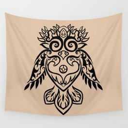 Forest Owl Wall Tapestry