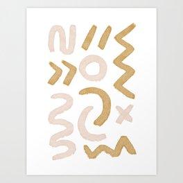 Savie Geometric Art Print