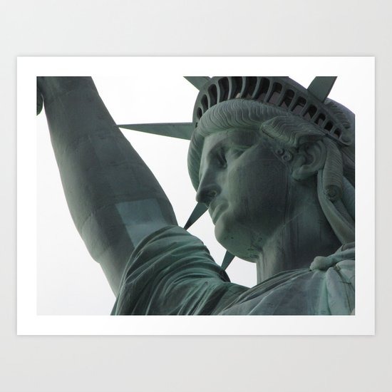 Miss Liberty Art Print