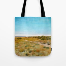 12,000pixel-500dpi - William Merritt Chase - First Touch Of Autumn - Digital Remastered Edition Tote Bag