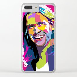 Myles Kennedy Smile WPAP Clear iPhone Case