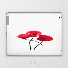 Three Poppies Laptop & iPad Skin