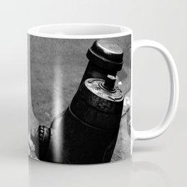 Fire Hydrant, Black and White Coffee Mug