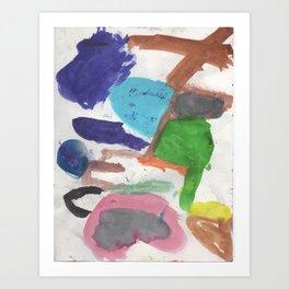 Colors 1 Art Print