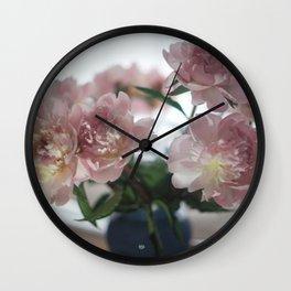LOUVE FLORALE Wall Clock