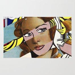 Botticelli's Venus & Lichtenstein's M...Maybe. Rug