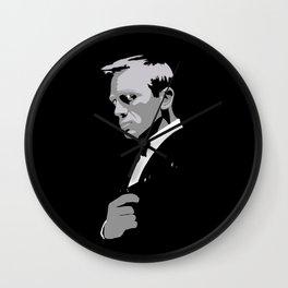 Daniel Craig 007 Wall Clock