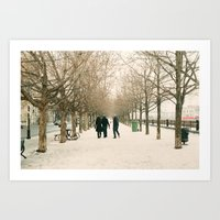 montreal Art Prints featuring Montreal by sarahscamera