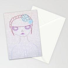 Dia de los Muertos Embroidery Stationery Cards